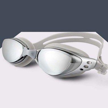 Óculos de Natação Proteção UV - Prata