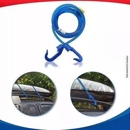 Elástico de Silicone 1m EQMAX - Azul