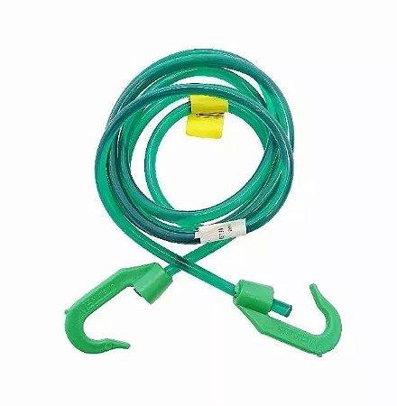 Elástico de Silicone 1m EQMAX - Verde