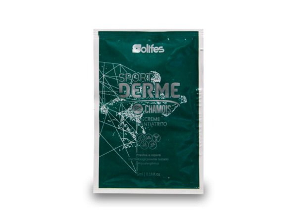Creme AntiAtrito Sport Derme CHAMOIS - Solifes - (Sachê 5ml)