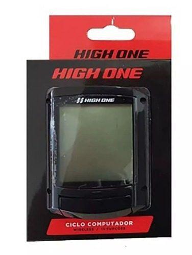 Ciclo Computador High One Wireless 20 funções - Preto