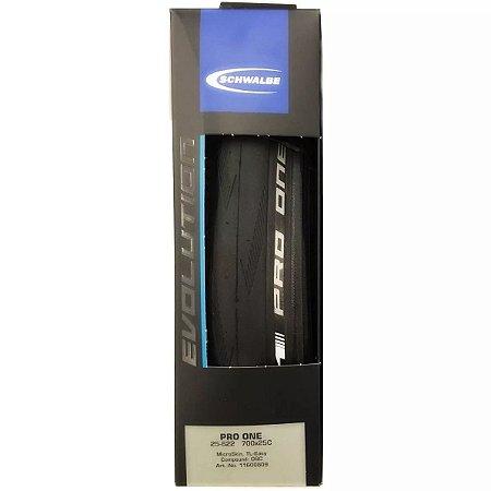 Pneu SCHWALBE Pro One Speed 700x25c MicroSkin - 1 unidade