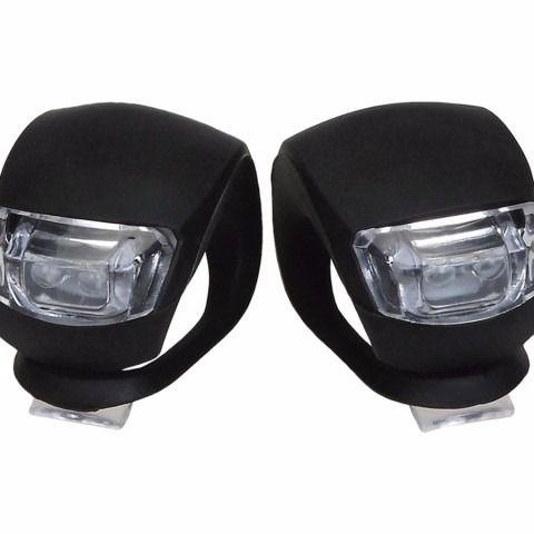 Refletor de LED TSW Light Set c/ Silicone Preto - Par - 3384 MOD02
