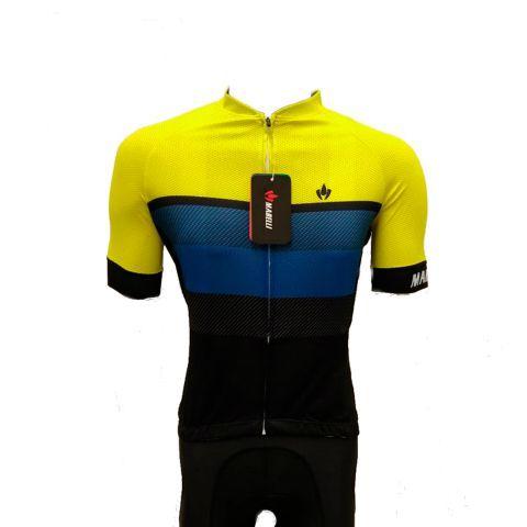 Camisa Jersey MARELLI Europa Faixas Amarelo - Tam. G
