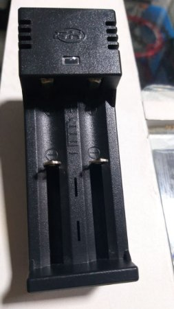 Carregador de Bateria Recarregável GH - 18650