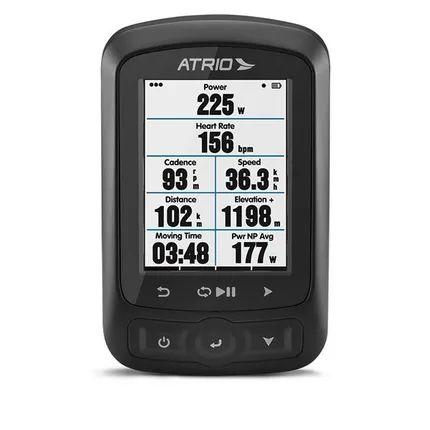 GPS ATRIO Titanium  P/ Bike  - C/ Sensores ( Cadência e Cinta Cardíaca) - BI155