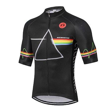 Camisa de Ciclismo WEIMOSTAR Masculina Preto - TAM. GG