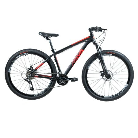 Bicicleta RAVA Pressure 2020 Aro 29/24V Vermelho/Preto - TAM. 17