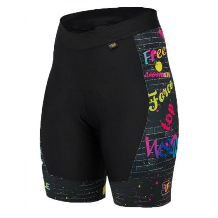 Short Feminino FREE FORCE Sport Wall Preto - TAM. G