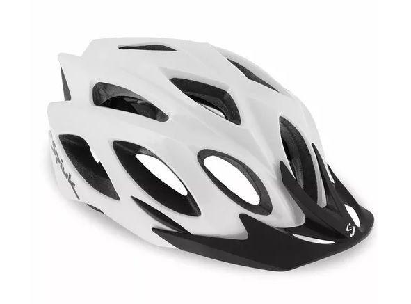 Capacete Ciclismo SPIUK Rhombus Branco - TAM. 58 - 62