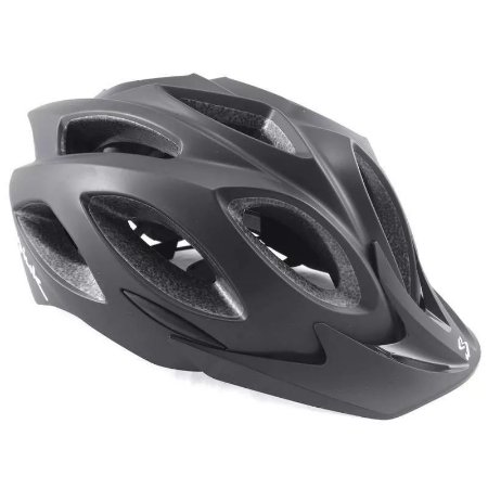 Capacete Ciclismo SPIUK Rhombus Preto Fosco - TAM. 52 - 58