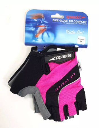 Luva SPEEDO Bike Glove Air Confort Pink - TAM. P