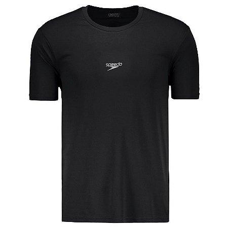 Camisa SPEEDO Basic Interlock UV50 Preto - TAM. M