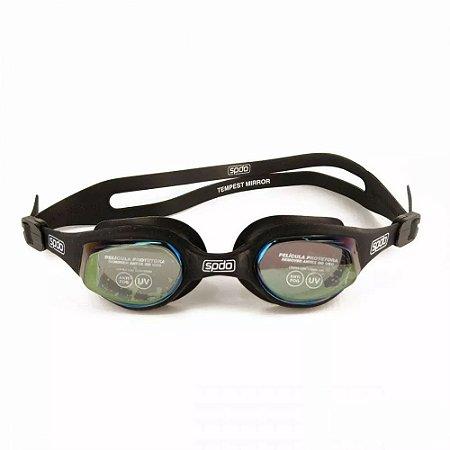 Óculos de Natação SPEEDO Tempest Mirror Preto Espelhado