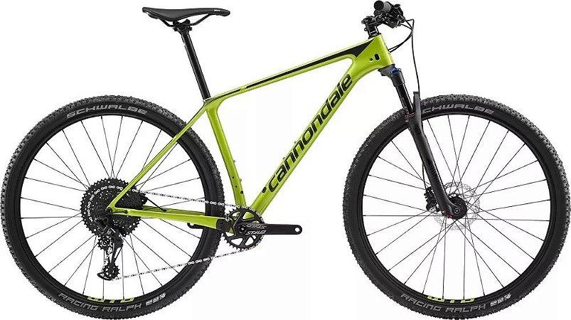 Bicicleta CANNONDALE F-SI Carbon 5 Aro 29/12V Verde - TAM.17