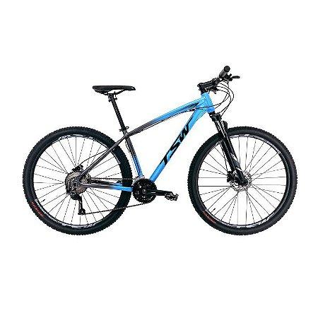 Bicicleta TSW Hunch Plus Aro 29/ 27V Azul/Cinza - TAM. 19