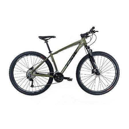 Bicicleta TSW Hunch Plus Aro 29/ 27V Verde/Cinza - TAM. 19