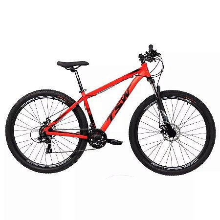 Bicicleta TSW Ride Aro 29/21V Vermelho - TAM. 19