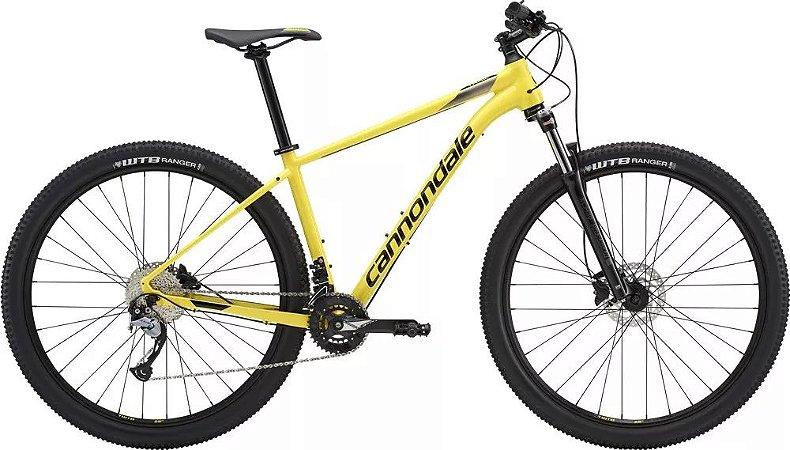 Bicicleta CANNONDALE Trail 6 Aro 29/18V Amarelo - TAM. M