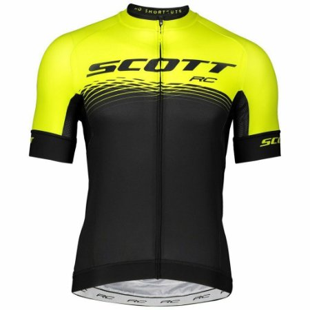 Camisa SCOTT RC Preto/Amarelo - TAM. G