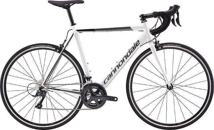 Bicicleta CANNONDALE CAAD Optimo Sora 700/16V Branco -TAM.54