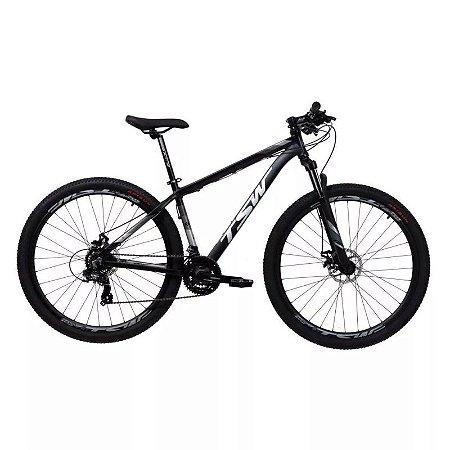 Bicicleta TSW Ride 29/21V  Preto Fosco - Tam. 19