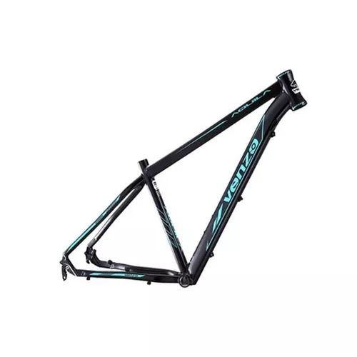 Quadro Venzo Alumínio 6061 29 X 17 - Preto/ Azul