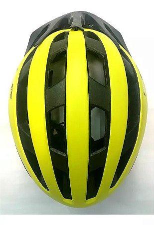 Capacete Highone Bike MTB/Speed Wind Aero Amarelo - TAM: M