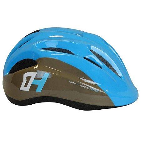 Capacete HIGH ONE Bike Infantil Piccolo New Azul/CinzaTam. P
