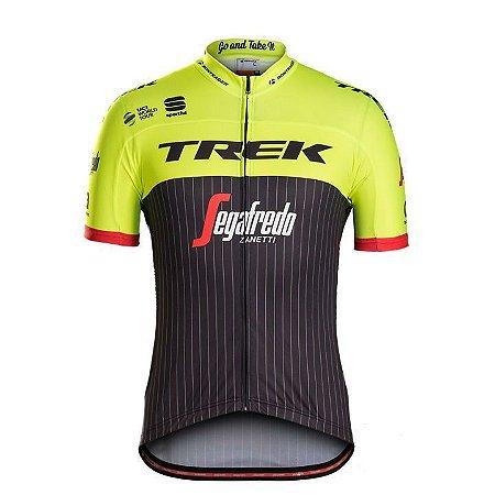 Camisa Masculina TREK Amarela/Preta - Tam. M
