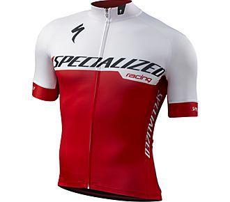 Camisa Masculina SPECIALIZED Branca/Vermelha - Tam.  P