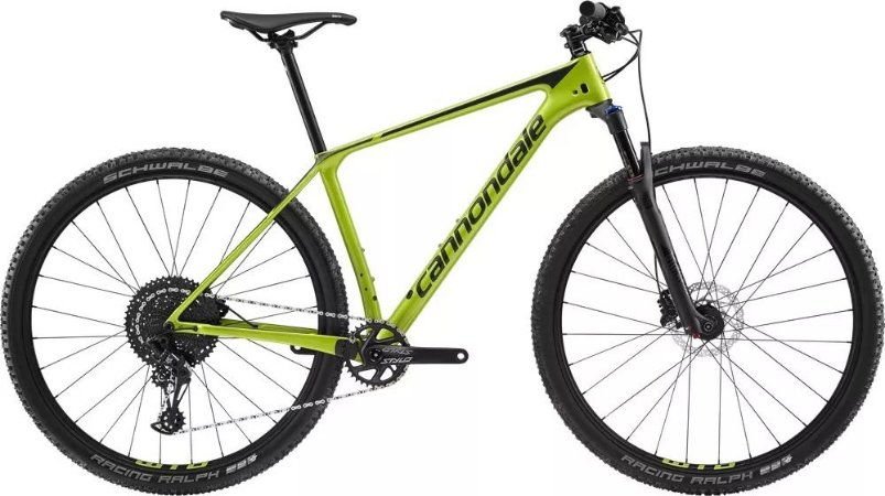 Bicicleta CANNONDALE F-SI Carbon 5 Aro 29/12V Verde - TAM.19
