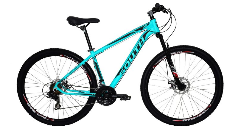 Bicicleta SOUTH Legend Aro 29/21V Azul Turquesa - Tam. 15