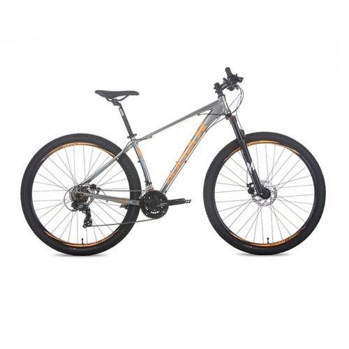 Bicicleta AUDAX Havok SX Aro 29/ 21v Prata/Laranja - Tam. 17