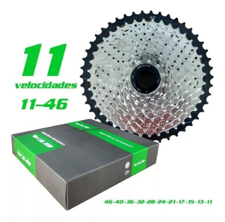 Cassete Alumínio 11v Index 11-46