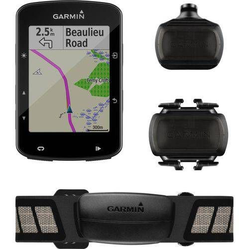 Ciclocomputador GARMIN com GPS  Edge 520 Plus Sensor Bundle