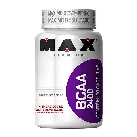 BCAA MAX TITANIUM 2400 - 60 Capsulas