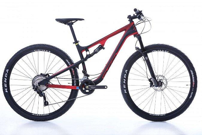 Bicicleta OGGI Cattura Sport Aro 29/20V Preto/Vermelho - Tam. 17