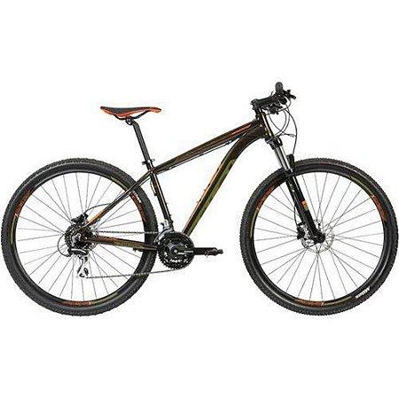 Bicicleta CALOI Explorer Comp 2020 Aro 29/24V Preto/Marrom - Tam. M