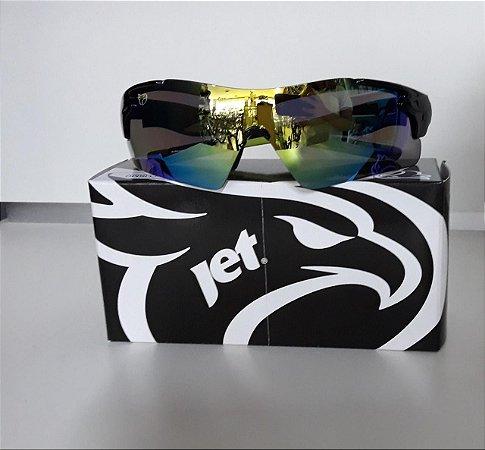 Óculos JET Matrix Preto/ Amarelo