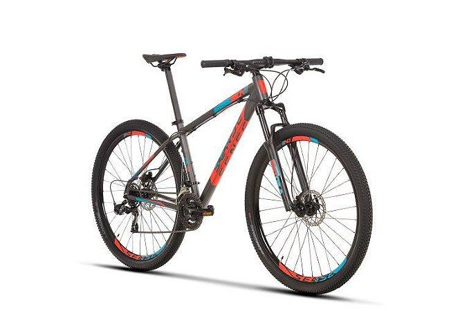 Bicicleta SENSE One 2020 21v Preta/ Vermelha/ Azul - Tam.17