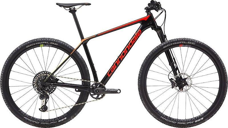 Bicicleta CANNONDALE F-Si Carbon 2 - Tam. M - Preto/ Vermelho/ Verde