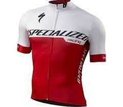 Camisa SPECIALIZED Branca/Vermelha - Tam. XG