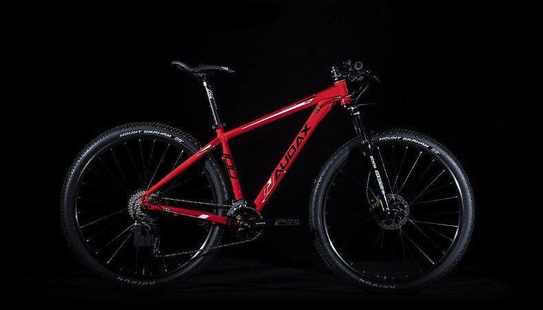 Bicicleta AUDAX ADX 100 2020 Aro 29/ 18V Vermelho  - Tam. 17