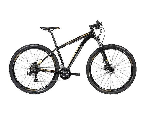 Bicicleta CALOI Explorer Sport 29' 21V Preta/Amarelo - TAM. 15