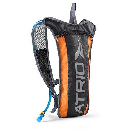 Mochila de Hidratação ATRIO Sprint Preto/Laranja 2L - BI134