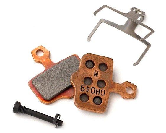 Pastilha de Freio a Disco AVID Code ELIXIR (B1) Metálica Siterizada Base de Aço Encartelada