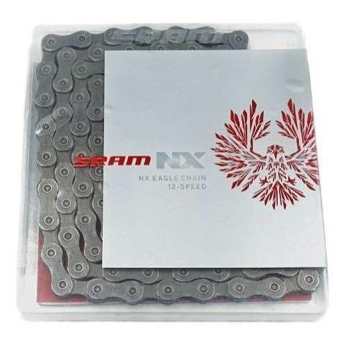Corrente SRAM PC-NX Eagle 126 elos - Cinza