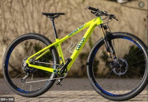 Bicicleta CALOI Aspen Way - c/Eagle NX/GX - 1 2020 Aro 29/ 12V Verde - Tam. M