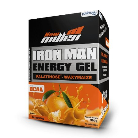 Carbo Gel Iron Man Tangerina- UN
